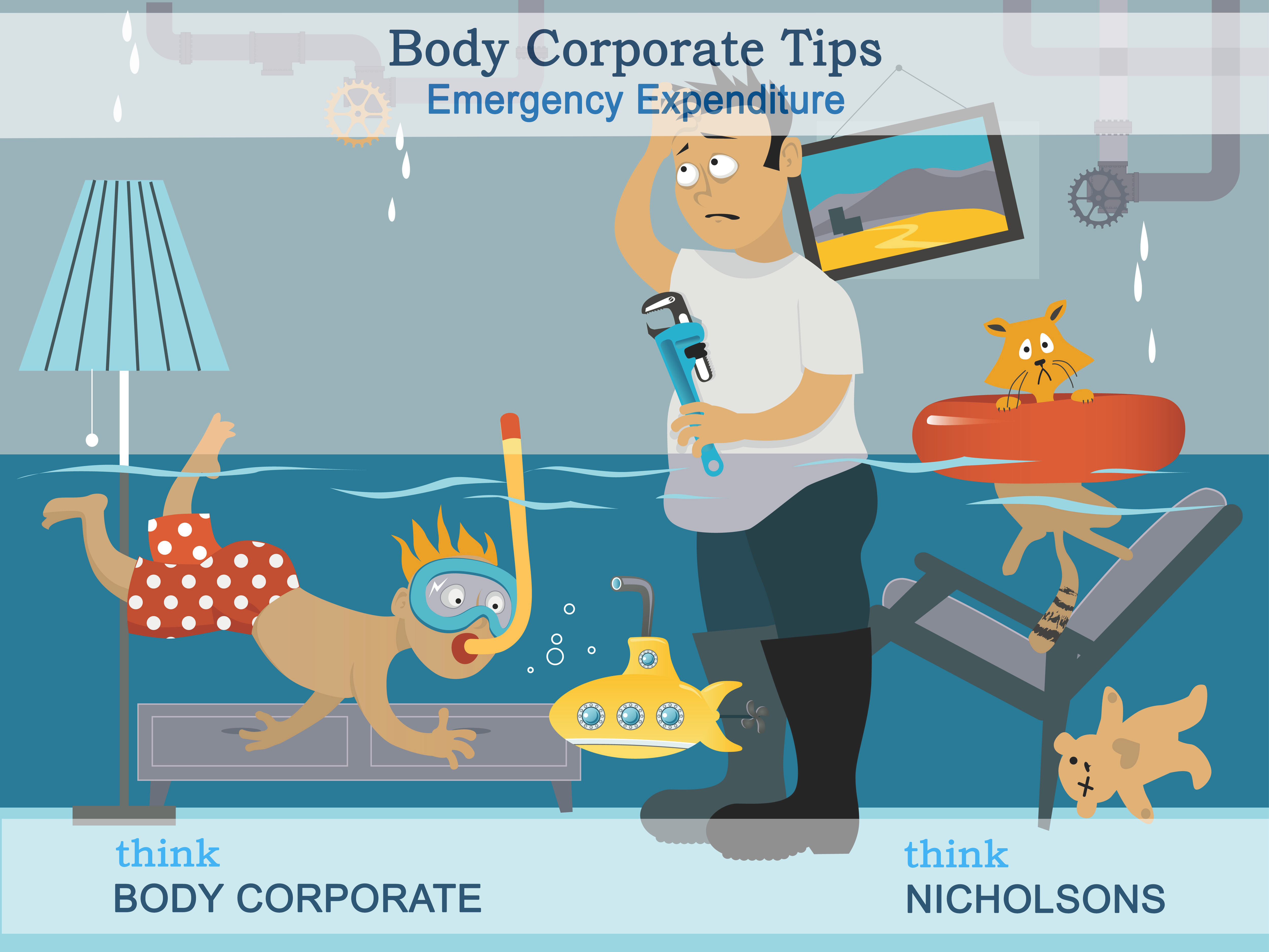 Body Corporate Tips – Emergency Expenditure
