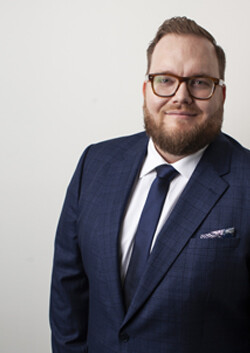 Photo of Matthew Russell, member of the Nicholsons Solicitors team