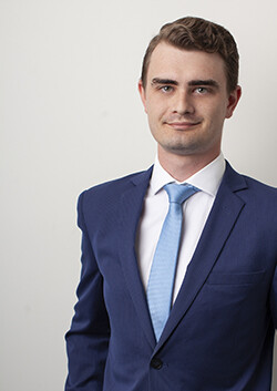 Photo of Mitchell Ablett-Nelson, member of the Nicholsons Solicitors team