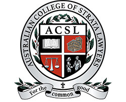 Australian College of Strata Lawyers Logo of which Andrew Suttie is a member