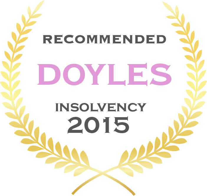 Doyle's Guide Insolvency Award 2015